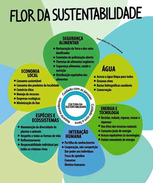 flor da sustentabilidade
